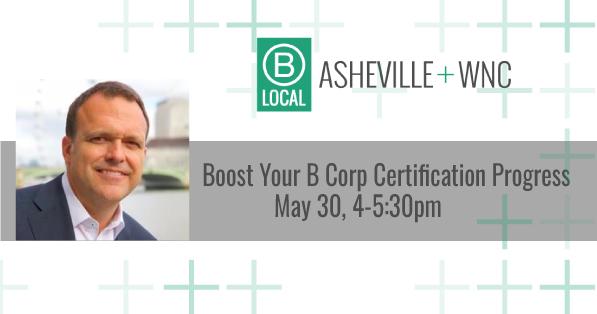 Boost your B Corp Certification Progress @ Mountain BizWorks